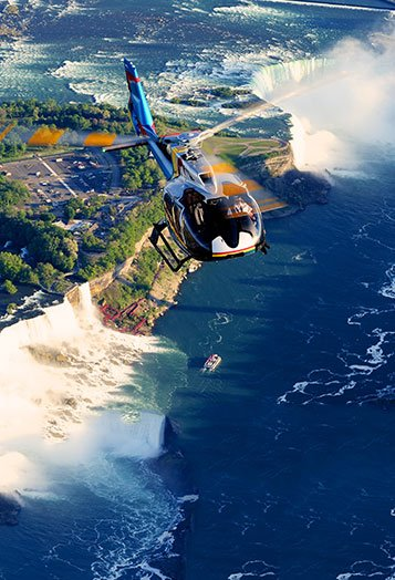 Niagara Helicopters Flight Path