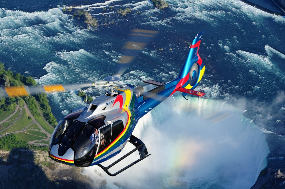 Niagara helicopter wedding