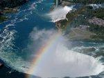 Horseshoe Falls & the Rainbow Bridge